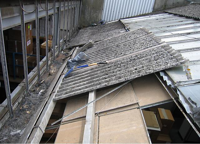 Industrial Roof Box Gutter Stay Dry Roofing Specialists