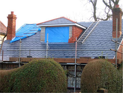 Re-Roofing and Adding a Dormer Window