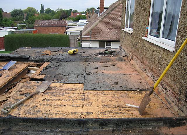 Re-Roofing of Flat Roof - Stay-Dry Roofing Specialists