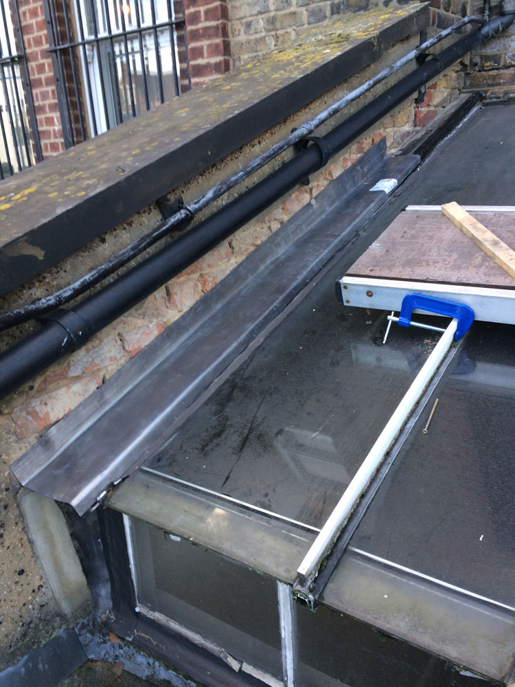 Lead Work Over Glass Roof Stay Dry Roofing Specialists