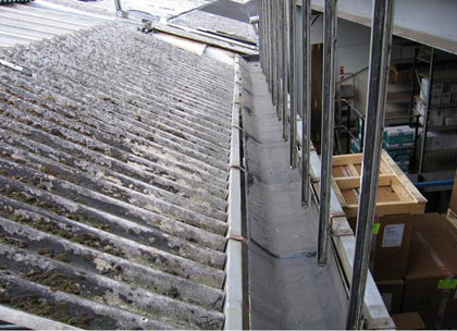 Industrial Roof – Box Gutter