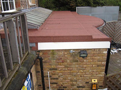 New Bay Flat Roof